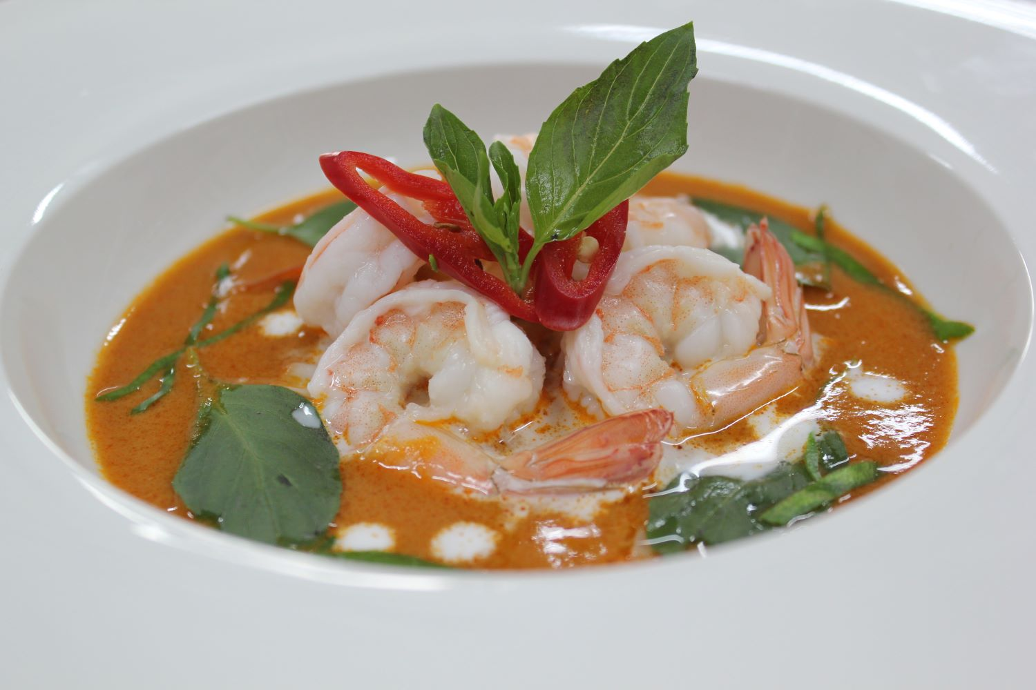 Frozen Red Curry with prawns